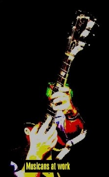 Blues-Rock-Band Gitarre
